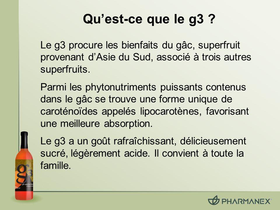 Quest-ce que le g3 .