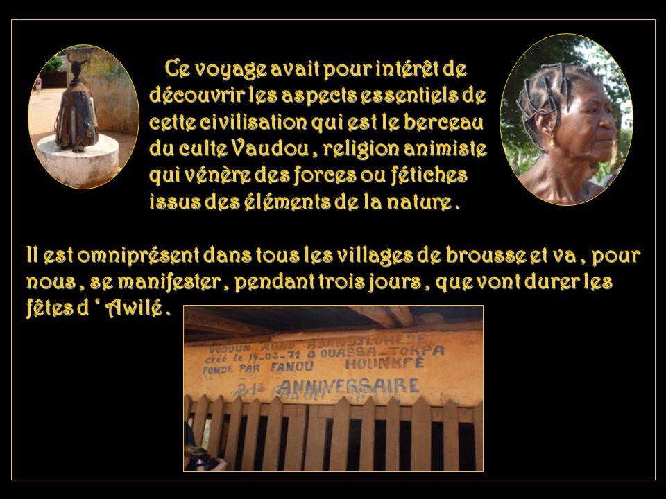 Le Bénin est un pays d Afrique occidentale. D une superficie de 114.000 km2 avec 8.800.000 ha, il sétend sur 670 kms du fleuve Niger au nord au golfe