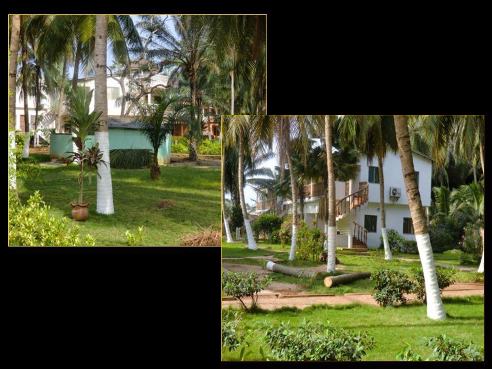 L hôtel possède 40 chambres réparties dans plusieurs bungalows au milieu d un espace arboré.
