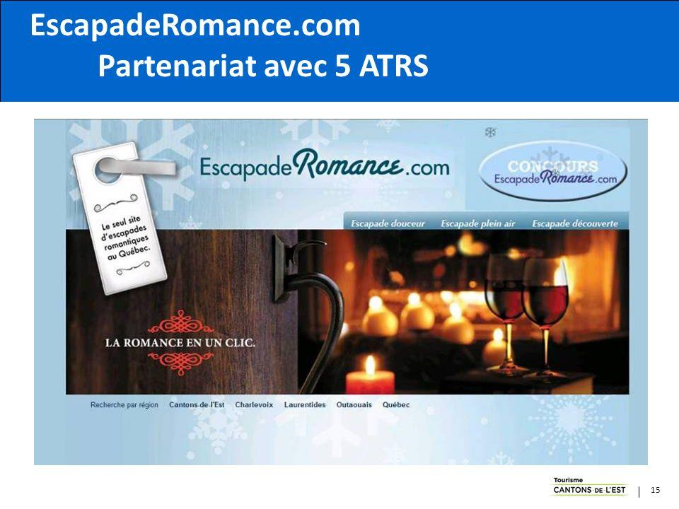 15 EscapadeRomance.com Partenariat avec 5 ATRS 15