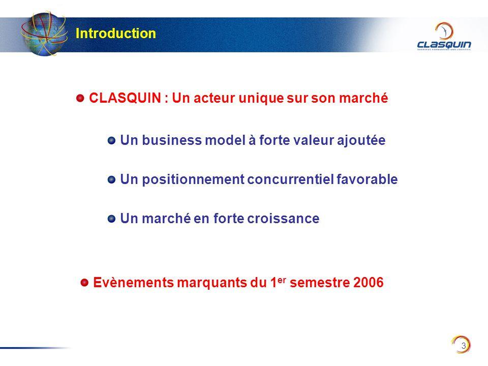 24 Répartition du CA par type de fret (en %) 31 décembre 2005 30 juin 2006 Avant écritures de consolidation et hors Log System (filiale informatique) AérienMaritimeDivers