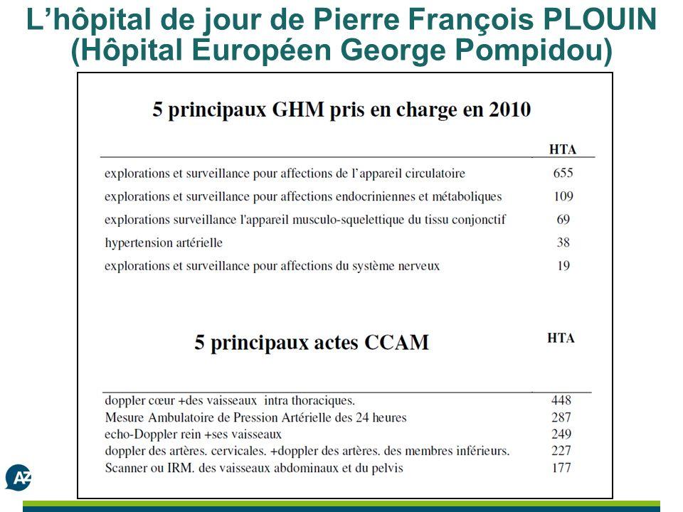 Lhôpital de jour de Pierre François PLOUIN (Hôpital Européen George Pompidou)