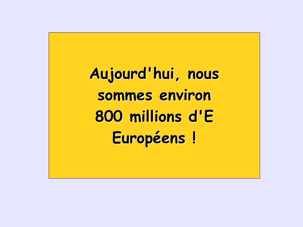 Évolution de la population de quelque pays européens Population européenne vers 1600 : environ 100 millions Population européenne vers 1800 : environ 170 millions 4.