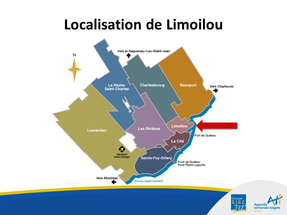 Localisation de Limoilou