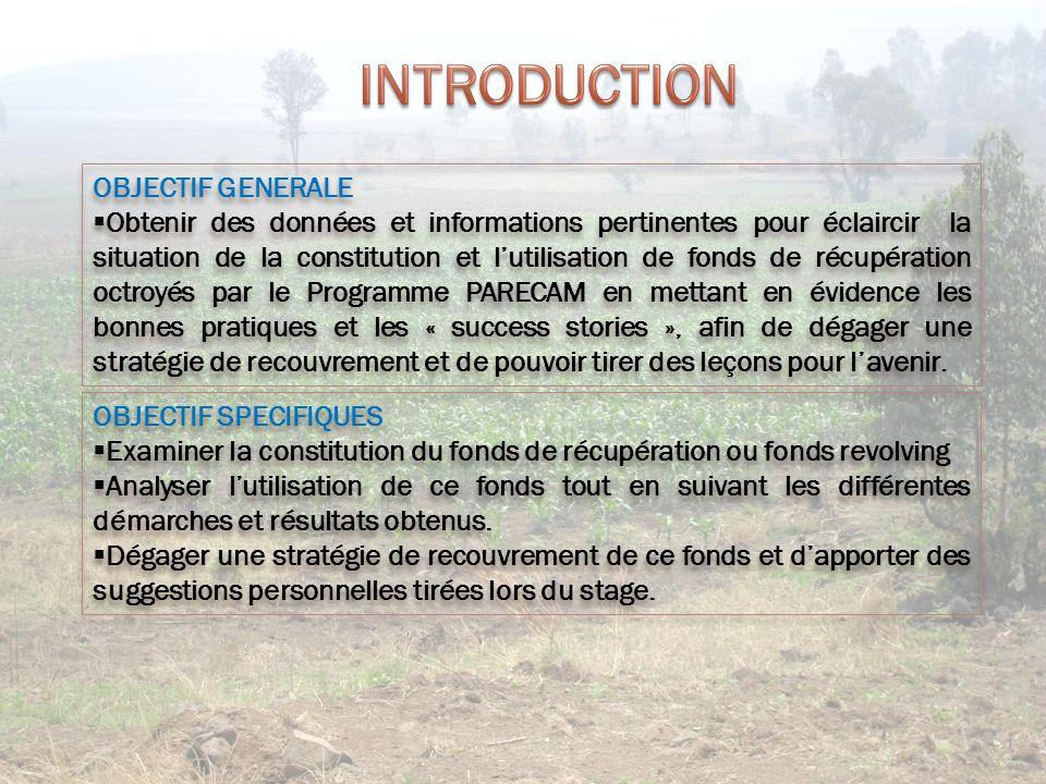 Fond revolving La mobilisation du fond revolving doit respecter les conditions suivantes : Faisabilité technique Rentabilité économique Viabilité sociale
