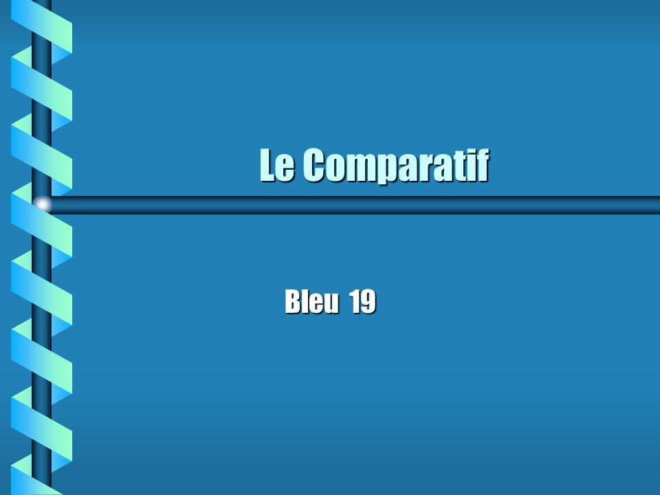 Le Comparatif Bleu 19