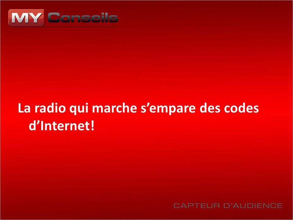 La radio qui marche sempare des codes dInternet!