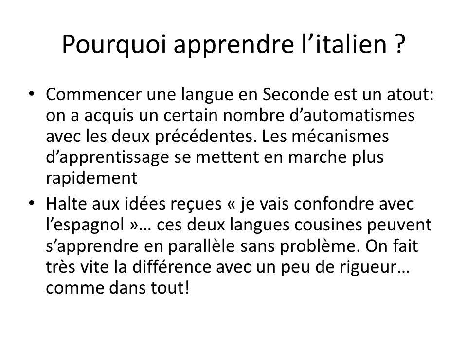 Objectivement, lItalie est un pays magnifique (sinon, les touristes seraient-ils si nombreux?) Quoi de mieux alors pour le découvrir au plus près, que de parler la langue de ses habitants.