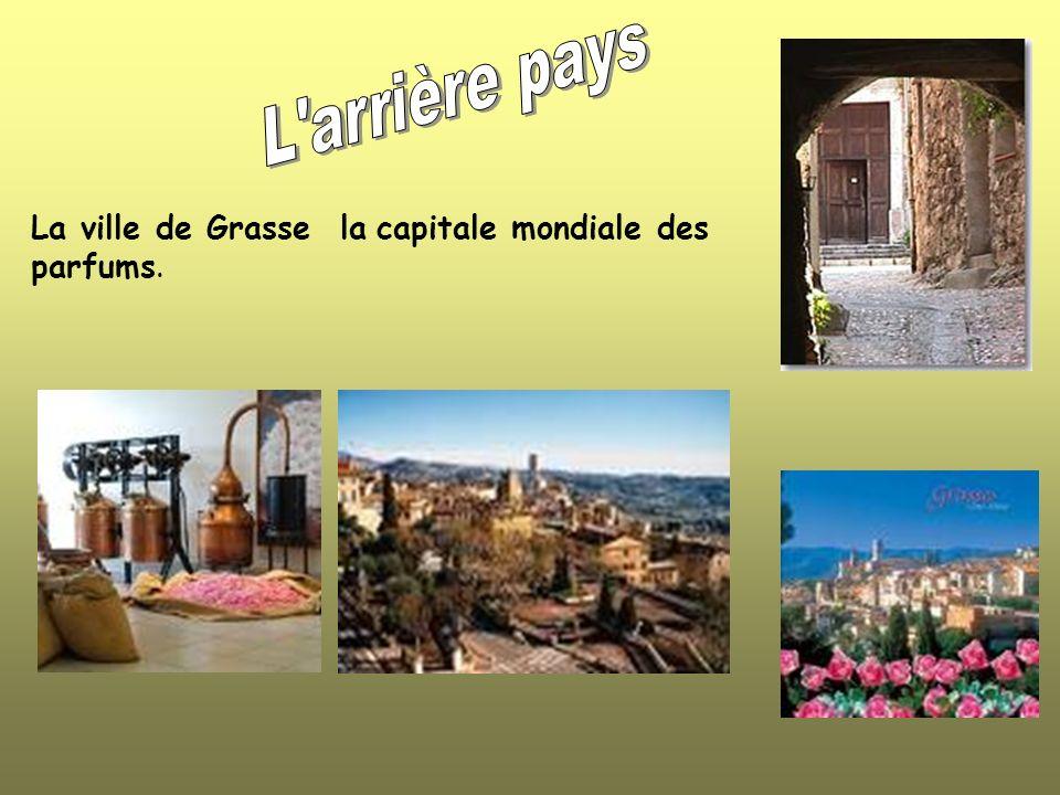 La ville de Grasse la capitale mondiale des parfums.