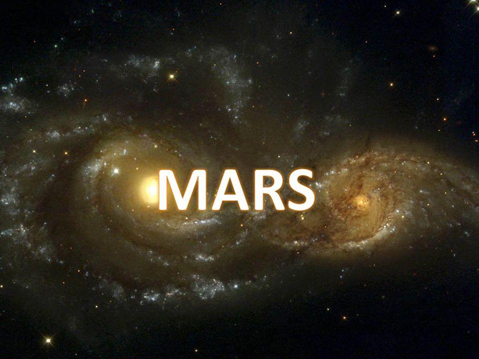 Mars est la quatrième planète à partir du Soleil et elle se situe à une distance de 227,90 millions de kilomètre de ce dernier.