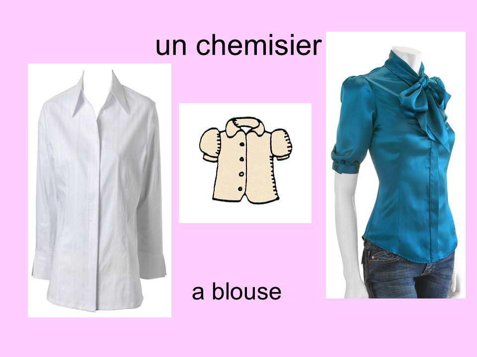 un chemisier a blouse