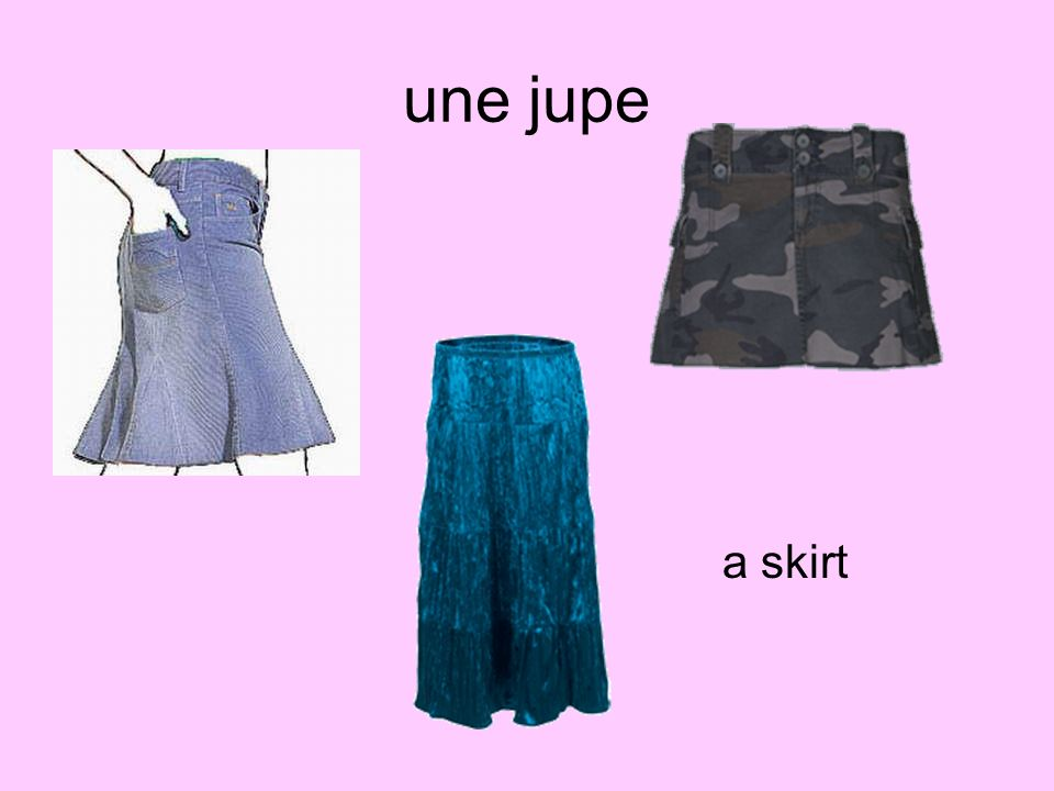 une jupe a skirt