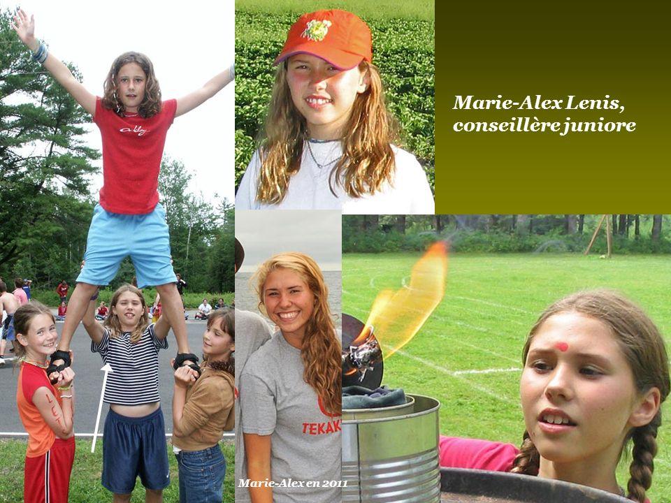 Alexandra Belzil, Marmiton Mais, il y a aussi elle… Alexandra en 2011