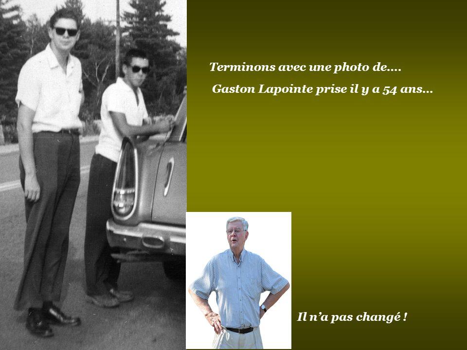 Bertrand devenu pionnier avec beaucoup de cheveux… …Avec pas beaucoup de cheveux… Vous avez probablement reconnu de nouveau Gab Bertrand en 2011