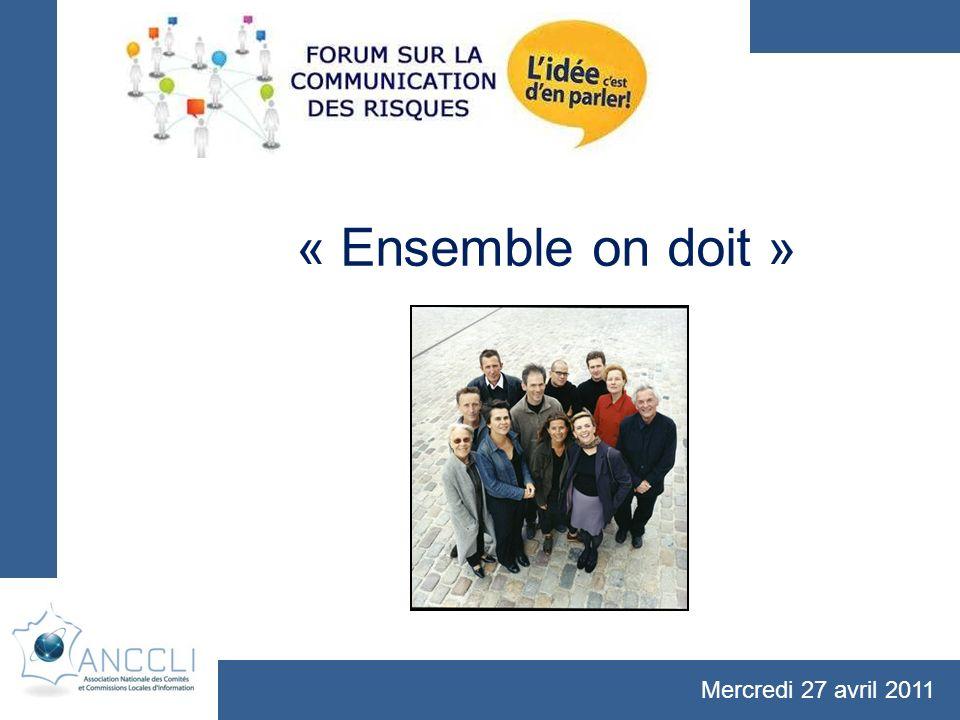 « Ensemble on doit » Mercredi 27 avril 2011