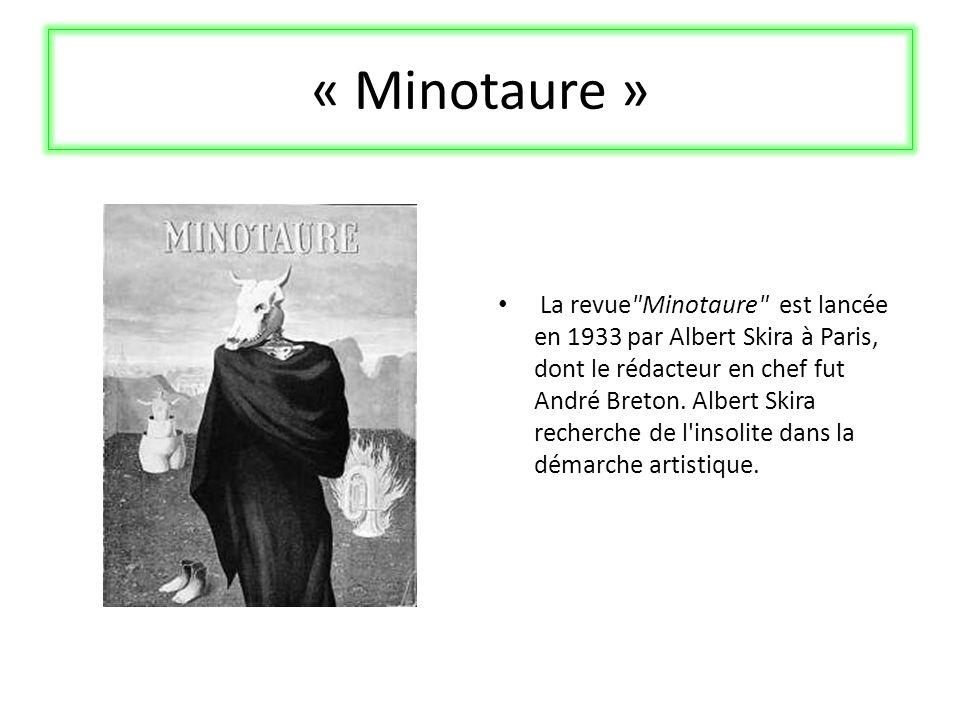 « Minotaure » La revue