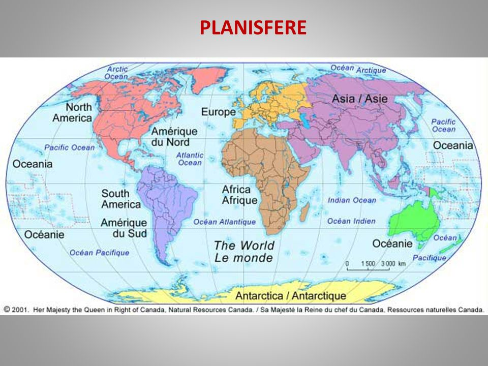 planisfere