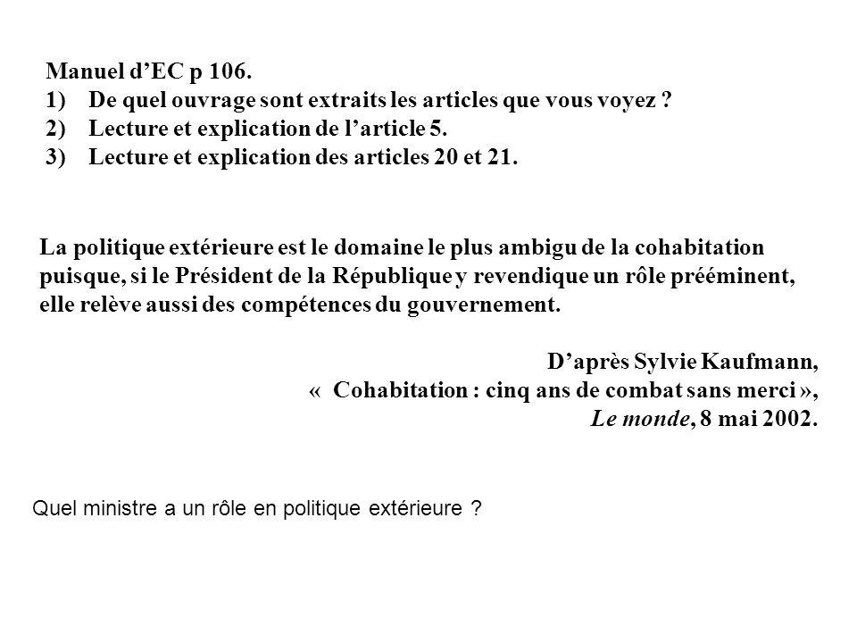 Mitterrand Le Président de la République.