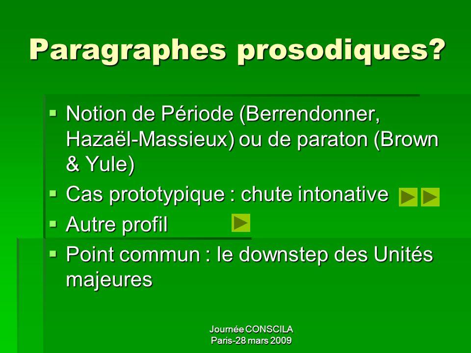 Journée CONSCILA Paris-28 mars 2009 Domaines majeurs Propriétés principales Propriétés principales Contiennent et subordonnent un ou pls domaines mine