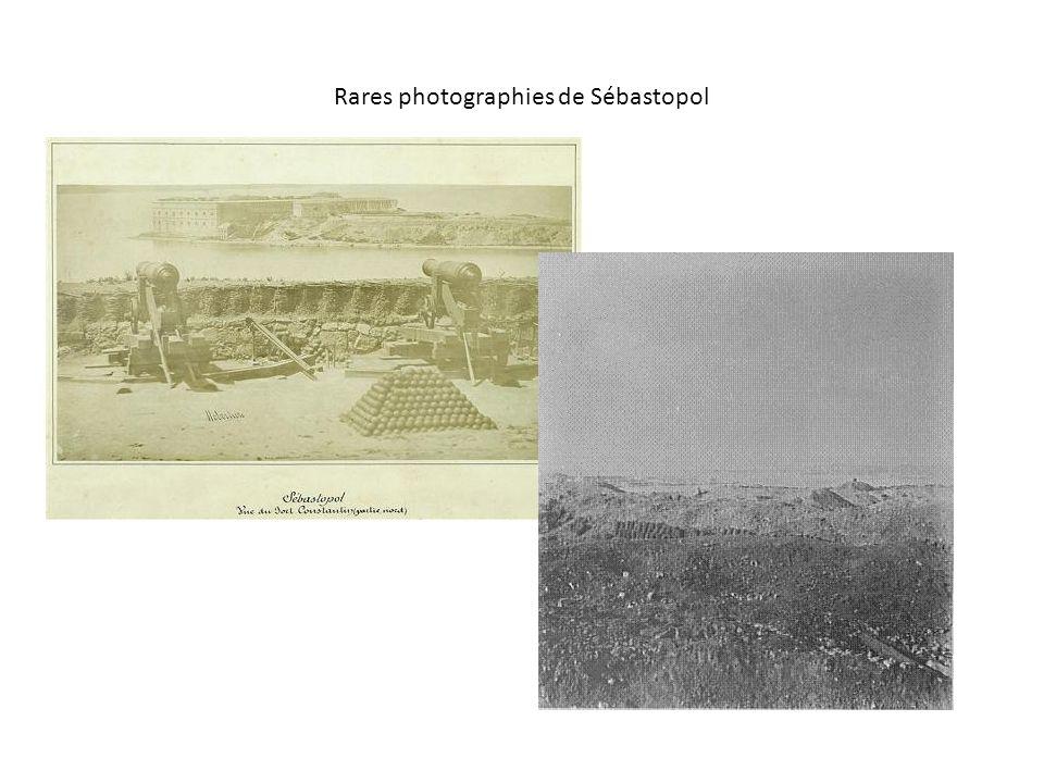 Rares photographies de Sébastopol