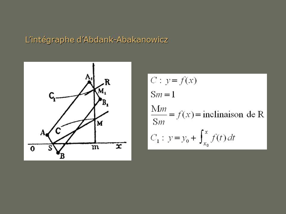 Lintégraphe dAbdank-Abakanowicz