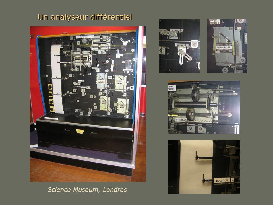 Un analyseur différentiel Science Museum, Londres