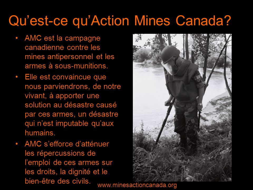 Quest-ce quAction Mines Canada.