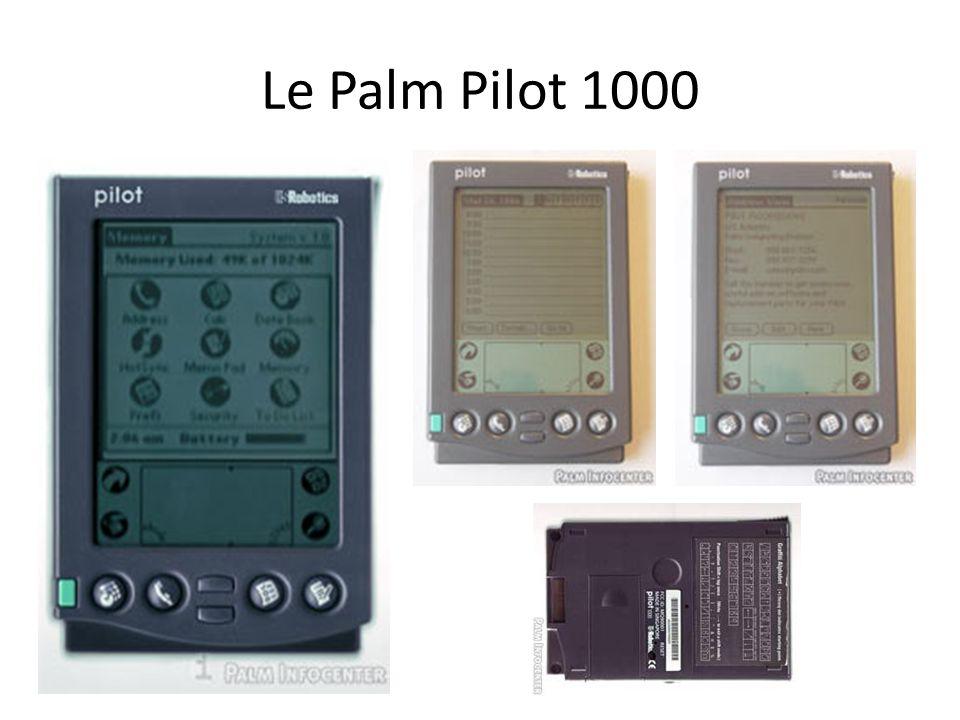 Le Palm Pilot 1000