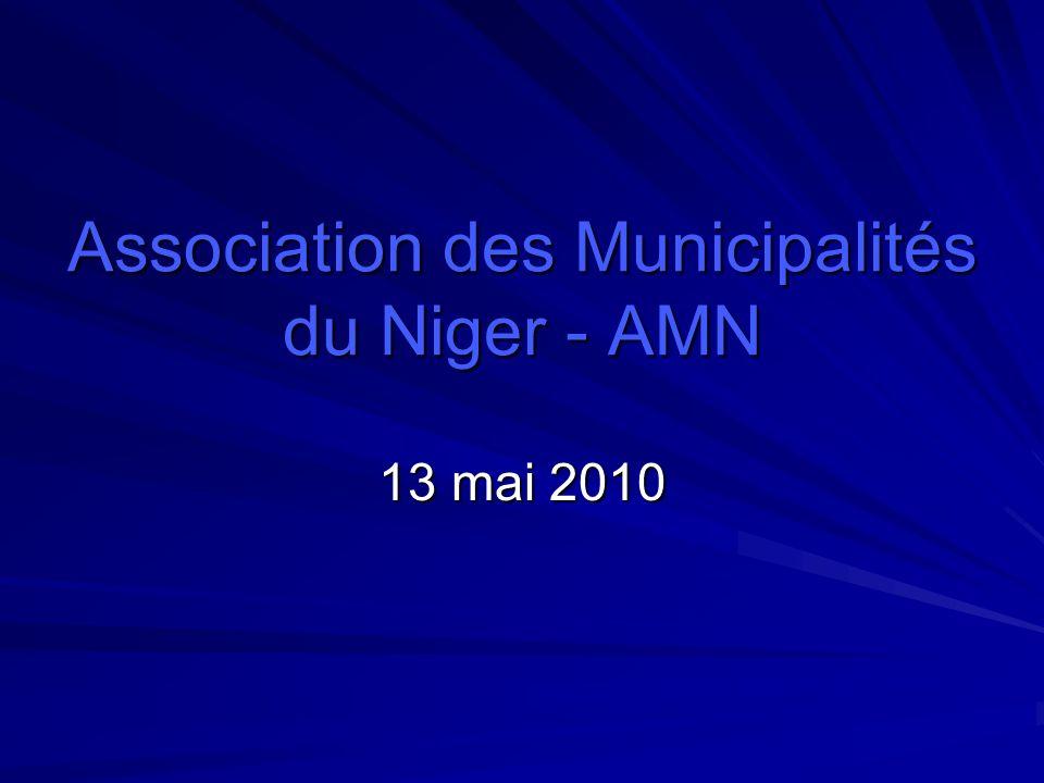 Association des Municipalités du Niger - AMN 13 mai 2010