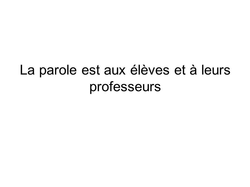 Les élèves du Collège La Grande Métairie à Ploufragan (22440) Professeur: Mme Nuria Guiffant