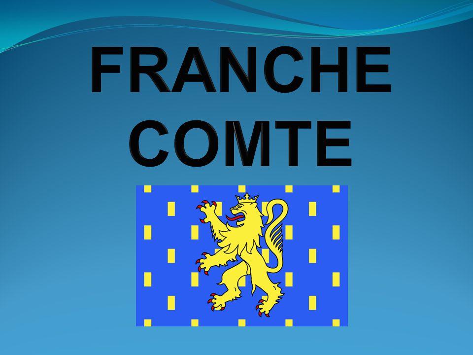 Géographie La Franche-Comté est une région de lest de la France, elle a une frontière commune avec la Suisse.