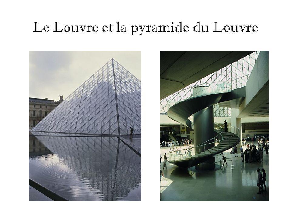 Le Louvre et la pyramide du Louvre