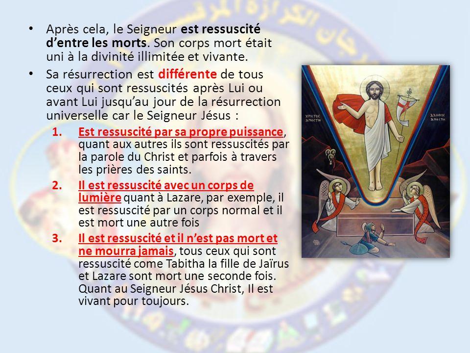 Cette résurrection glorieuse est pour nous, car nous aussi quand nous ressusciterons dentre les morts ce sera avec : – un corps de lumière, – un corps spirituel, – Un corps céleste et glorieux ressemblant au corps de sa résurrection.