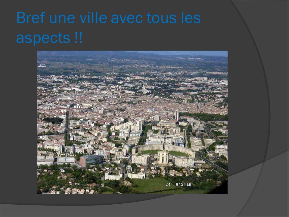 Bref une ville avec tous les aspects !!