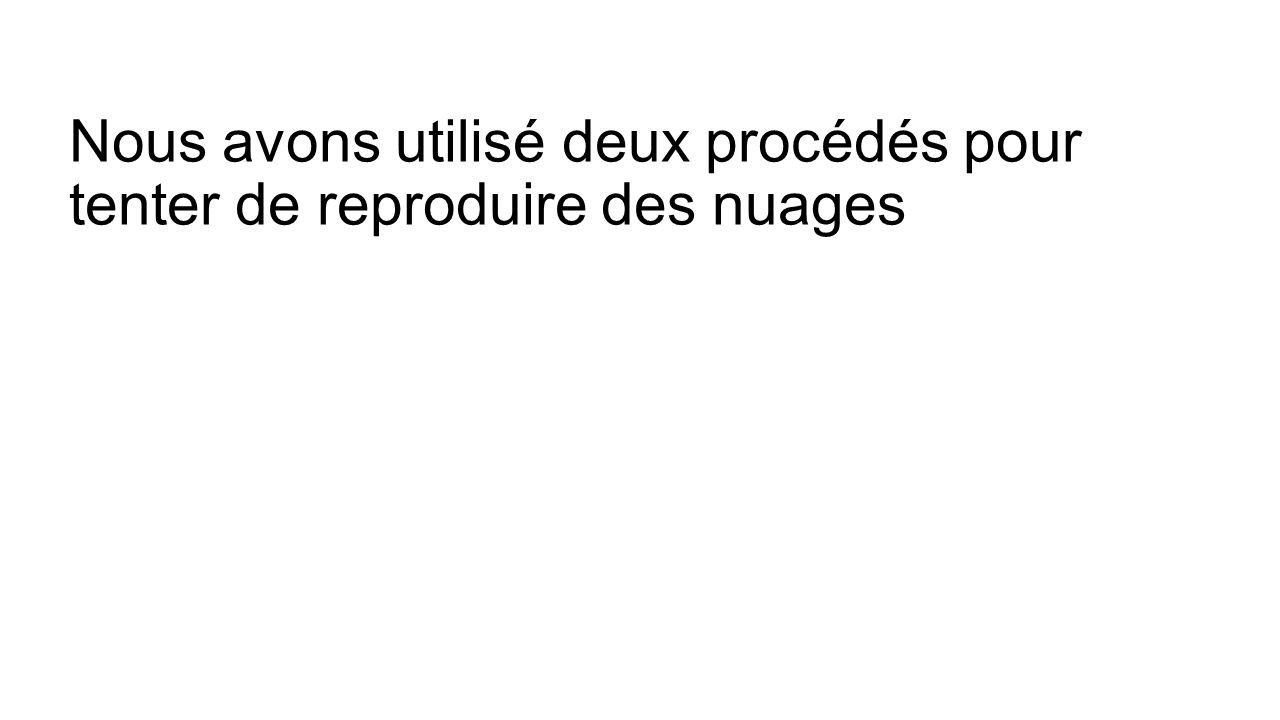 Protocole : 1-On introduit de leau chaude dans une bouteille que lon ferme.