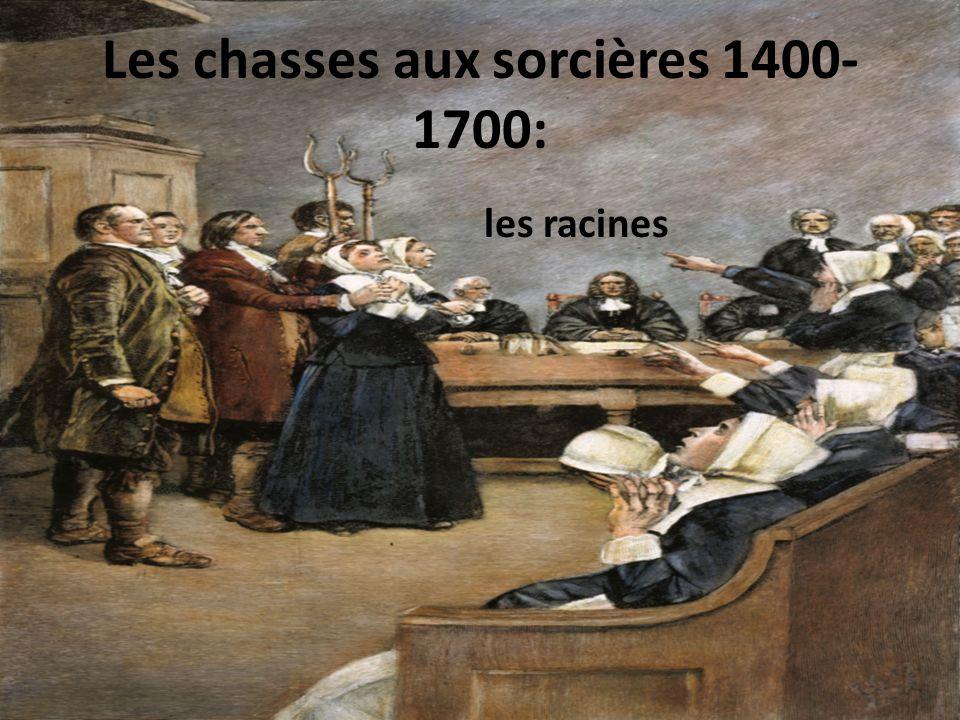 Entre 1400 et 1700, entre 100,000 et 300,000 personnes étaient exécutées comme sorciers et sorcières, et à peu près 500,000 autres personnes étaient expulsés de leurs communautés pour la même raison.