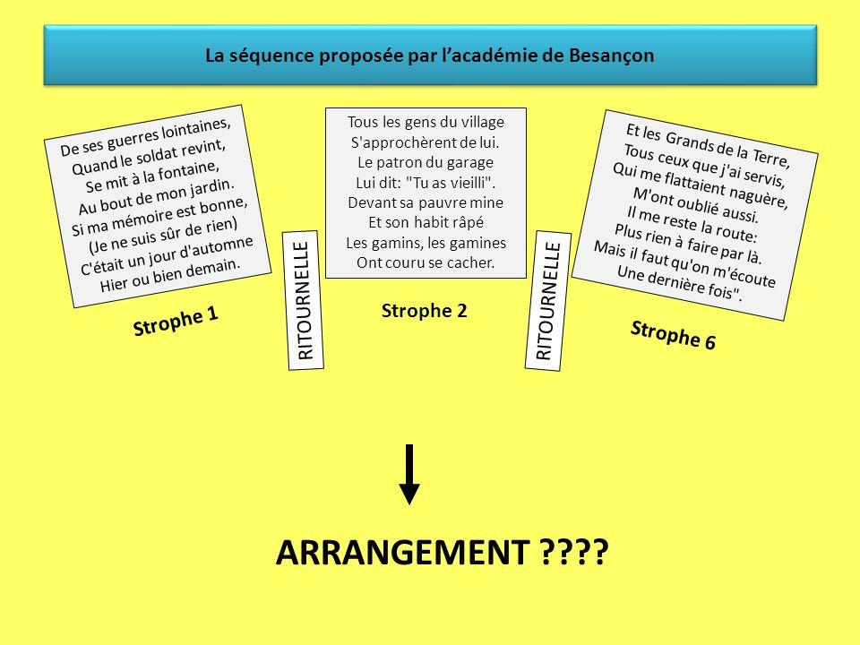 La séquence proposée par lacadémie de Besançon Exemple de démarche pour les items suivants… Domaine 4: Faire preuve de sensibilité, desprit critique,
