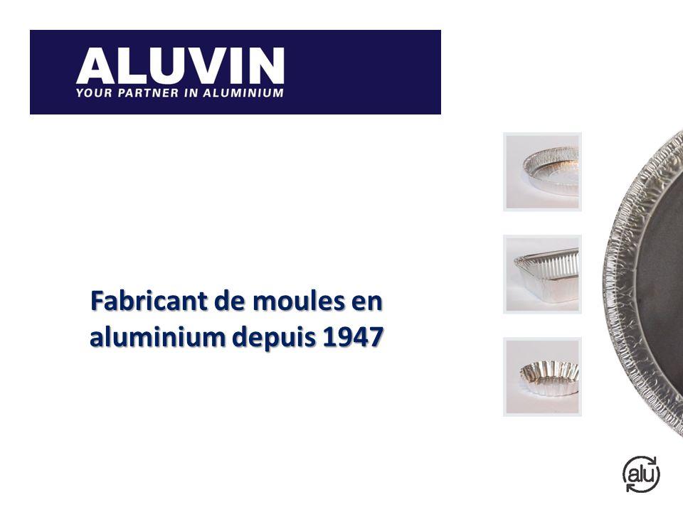 Fabricant de moules en aluminium depuis 1947 Aluminium Vormen Aluminium Foil Containers Barquettes Aluminium Aluminium Behälter