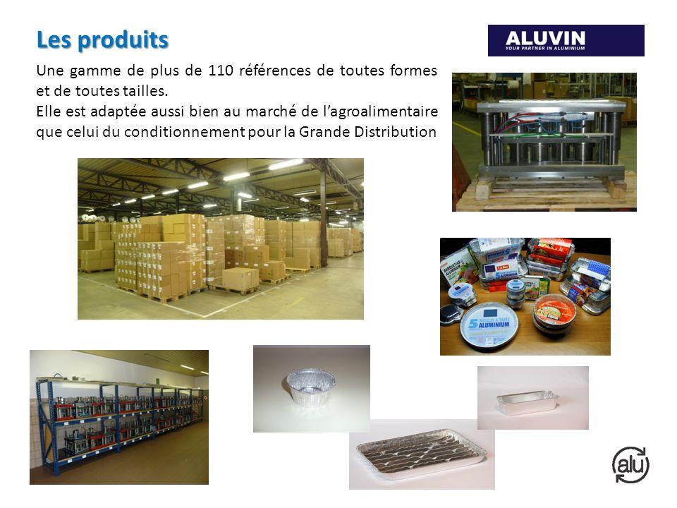 Les produits Une gamme de plus de 110 références de toutes formes et de toutes tailles.