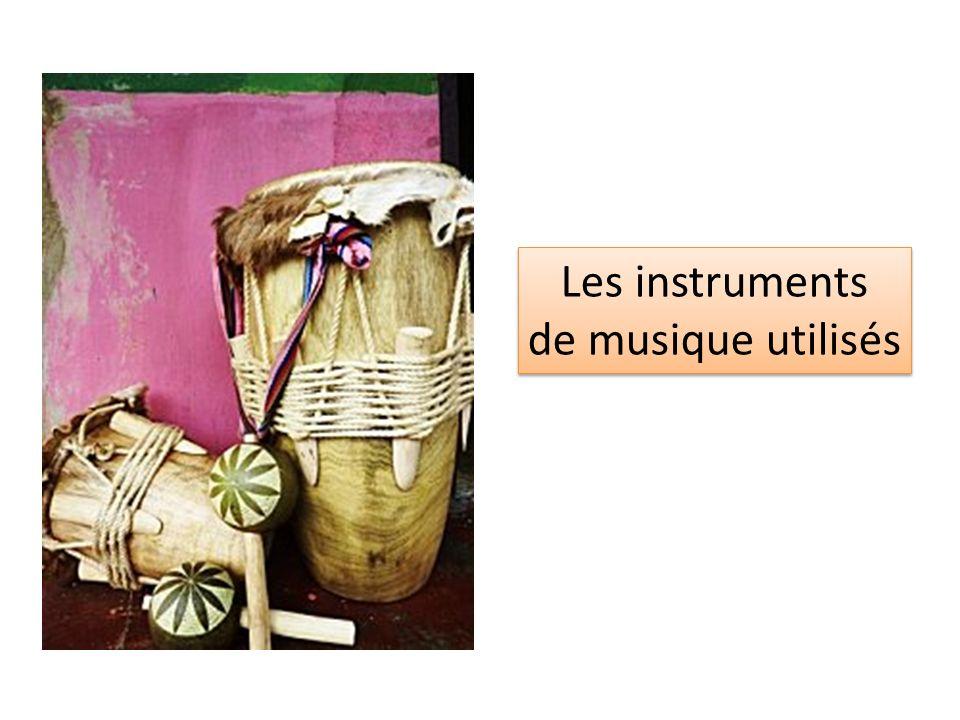 Léa Gosset Chloé Doucy Songul Akman Les instruments de musique utilisés Les instruments de musique utilisés