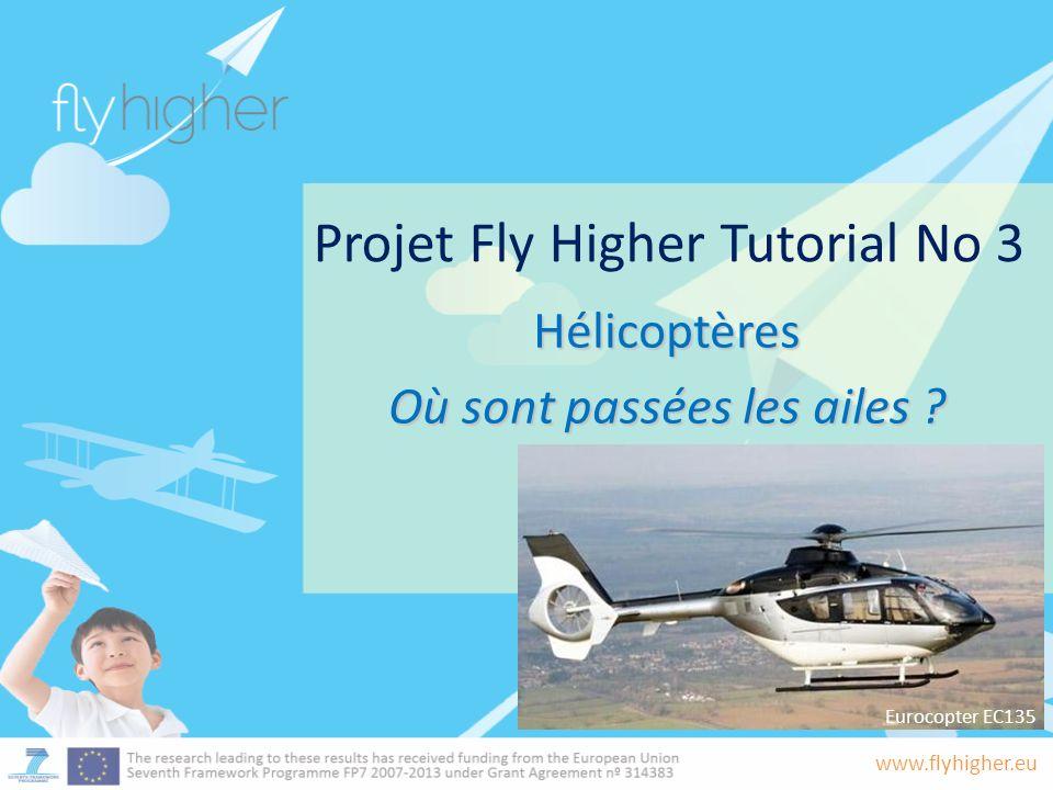 www.flyhigher.eu Projet Fly Higher Tutorial No 3 Hélicoptères Où sont passées les ailes .