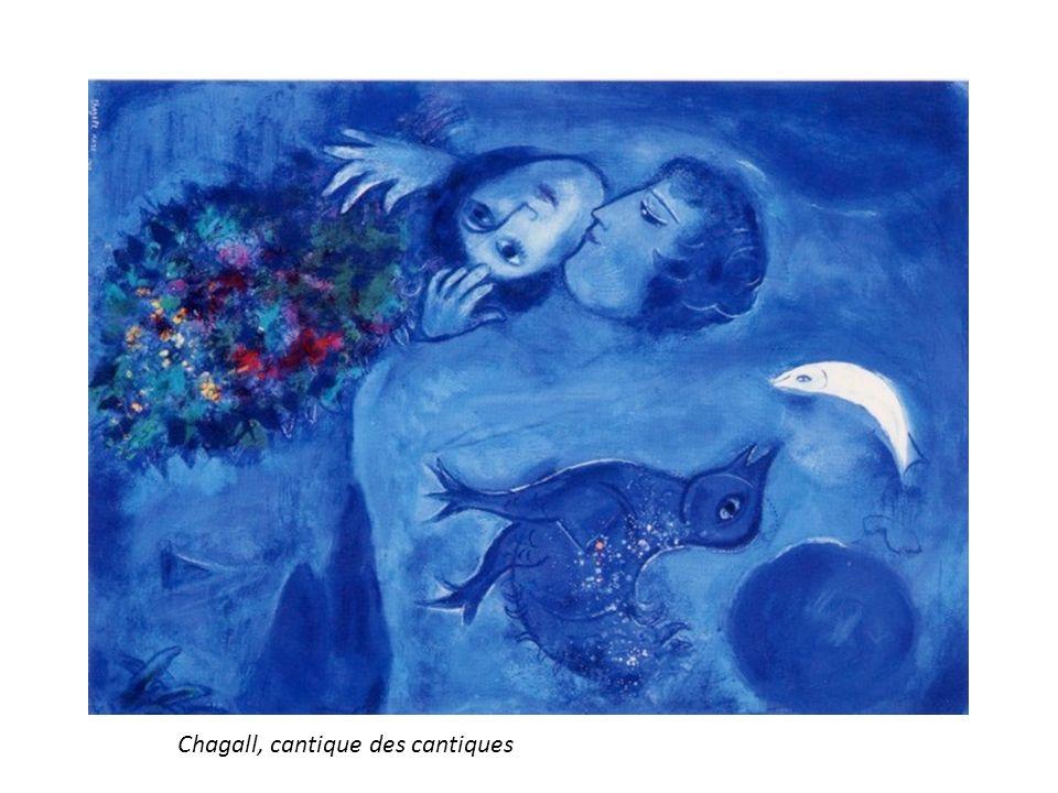 Chagall, cantique des cantiques