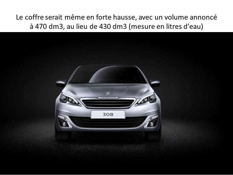 Peugeot 308 2013 Cette nouvelle Peugeot 308 2013 sera présentée au Salon de Francfort du 10 au 22 septembre prochains, et sera commercialisée à l automne.