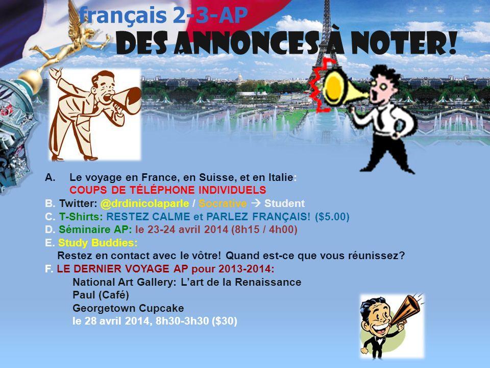 français 2 le 28 mars 2014 le 1 avril 2014 ActivitéClasseur RÉGIONS de la FRANCE : LAlsace-Lorraine I.