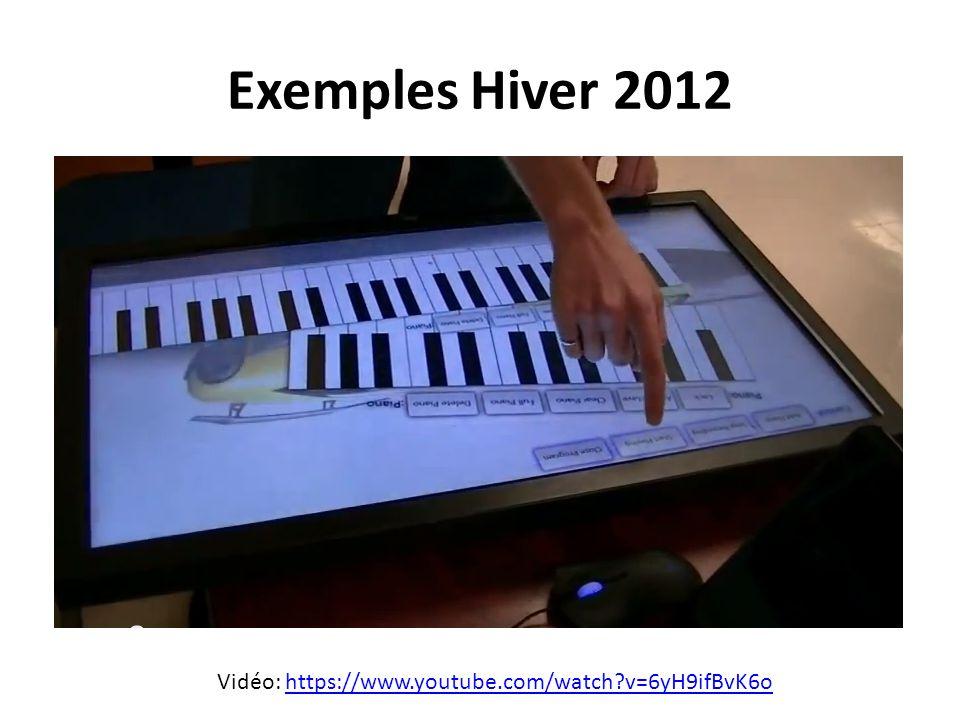 Le protocole en résumé 16 canaux indépendants Chaque canal contient 128 notes* 7 types de message *Peut être utiliser pour transférer des paramètres autres que des notes de musique