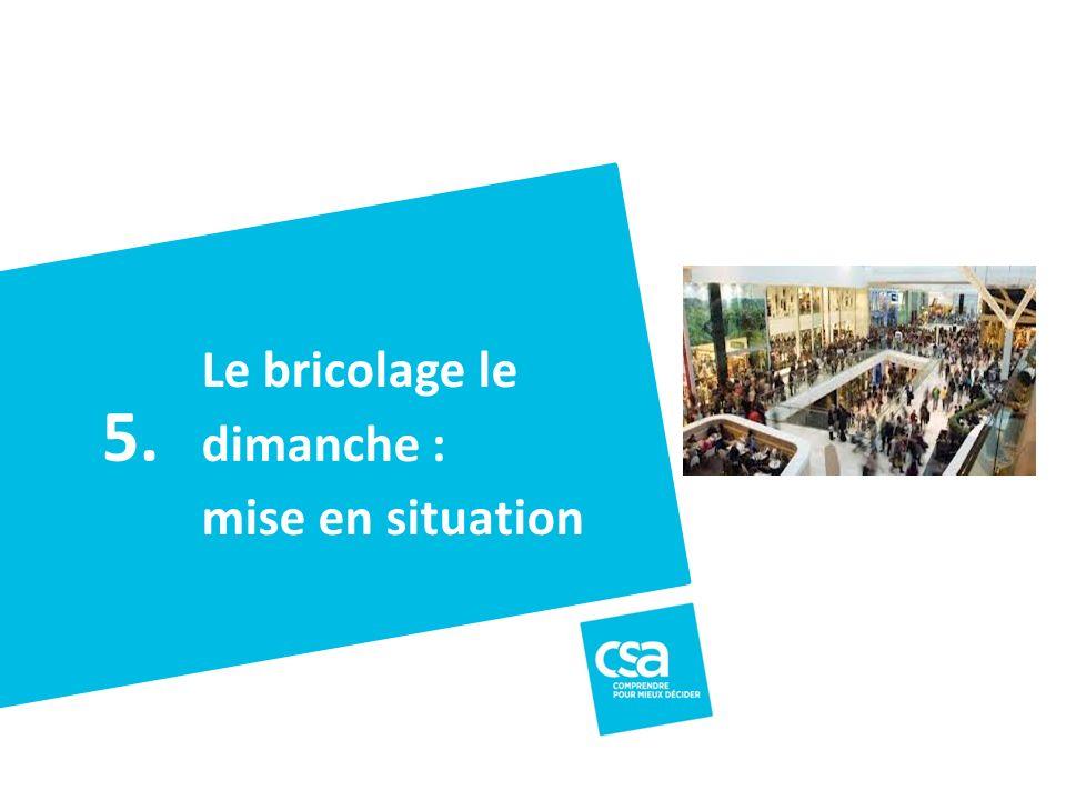Titre du projet17 Le bricolage le dimanche : mise en situation 5.