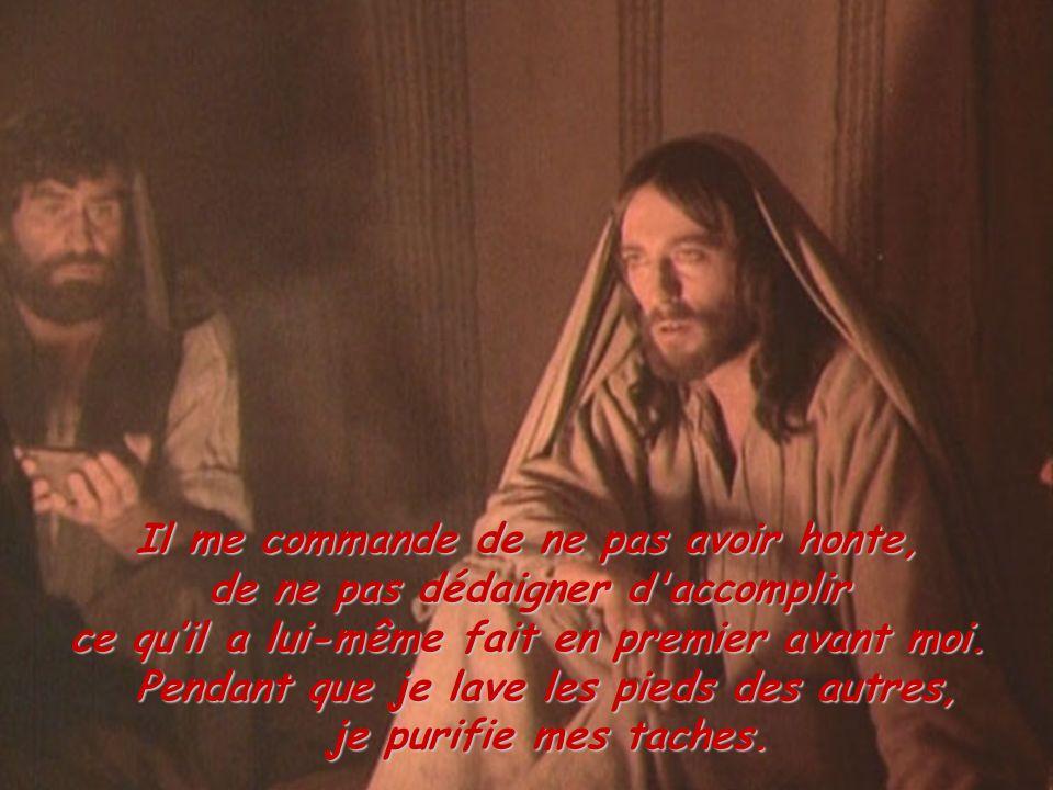 Tu partiras seul, Seigneur, sans nous, tes amis, pour affronter la lutte suprême de l ennemi.