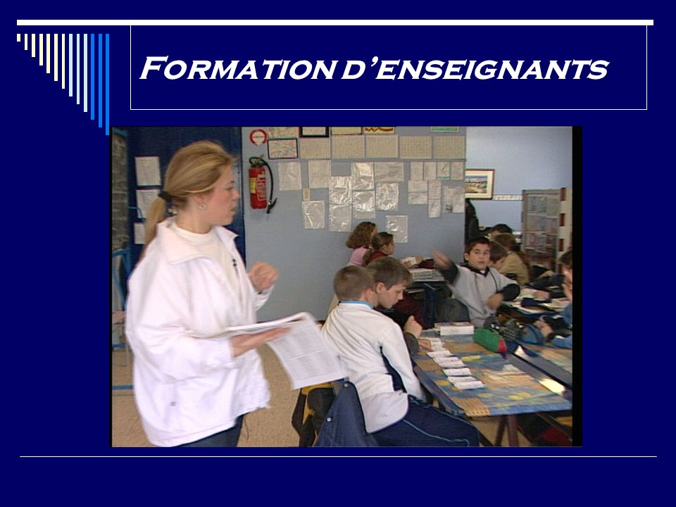 Formation denseignants