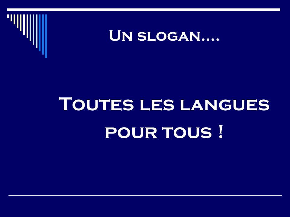 Les fonctions de léveil aux langues Contribution à une« éducation langagière générale » (Cadre européen commun de référence) Sappuyer sur une compétence dans une langue pour construire des compétences dans dautres langues Accompagner les apprentissages linguistiques