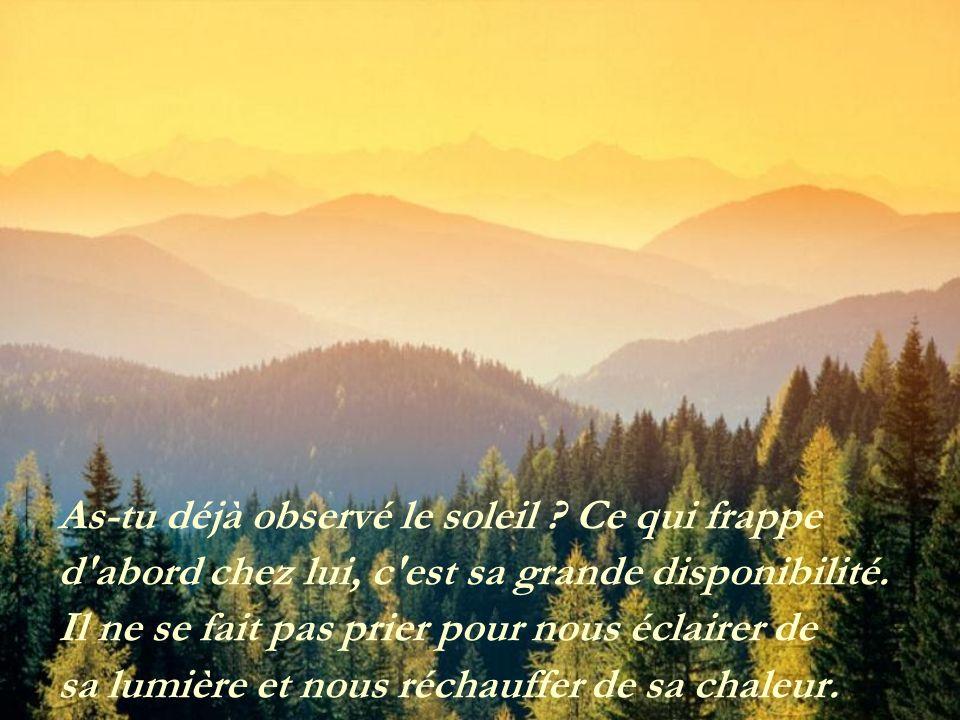 Le soleil Texte de Jules Beaulac